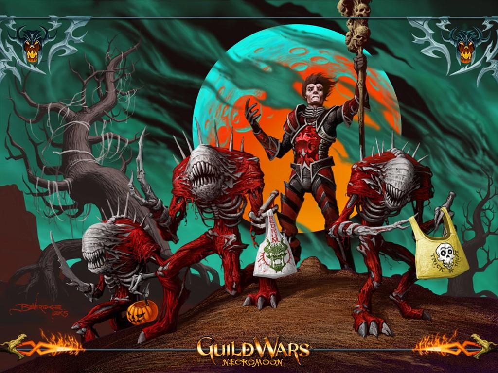 Games Wallpaper: Guild Wars - Halloween