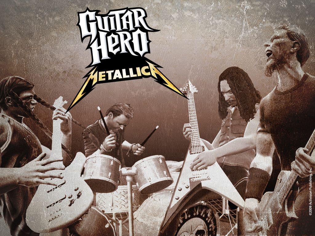 Games Wallpaper: Guitar Hero - Metallica