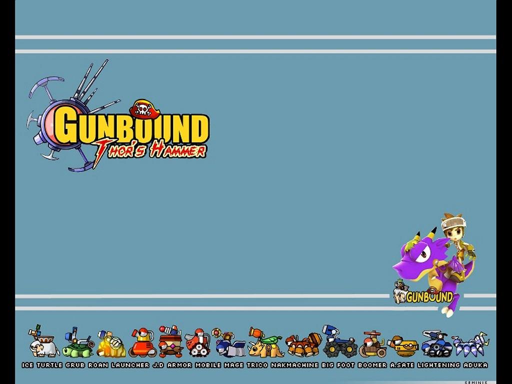 Games Wallpaper: Gunbound - Thor's Hammer