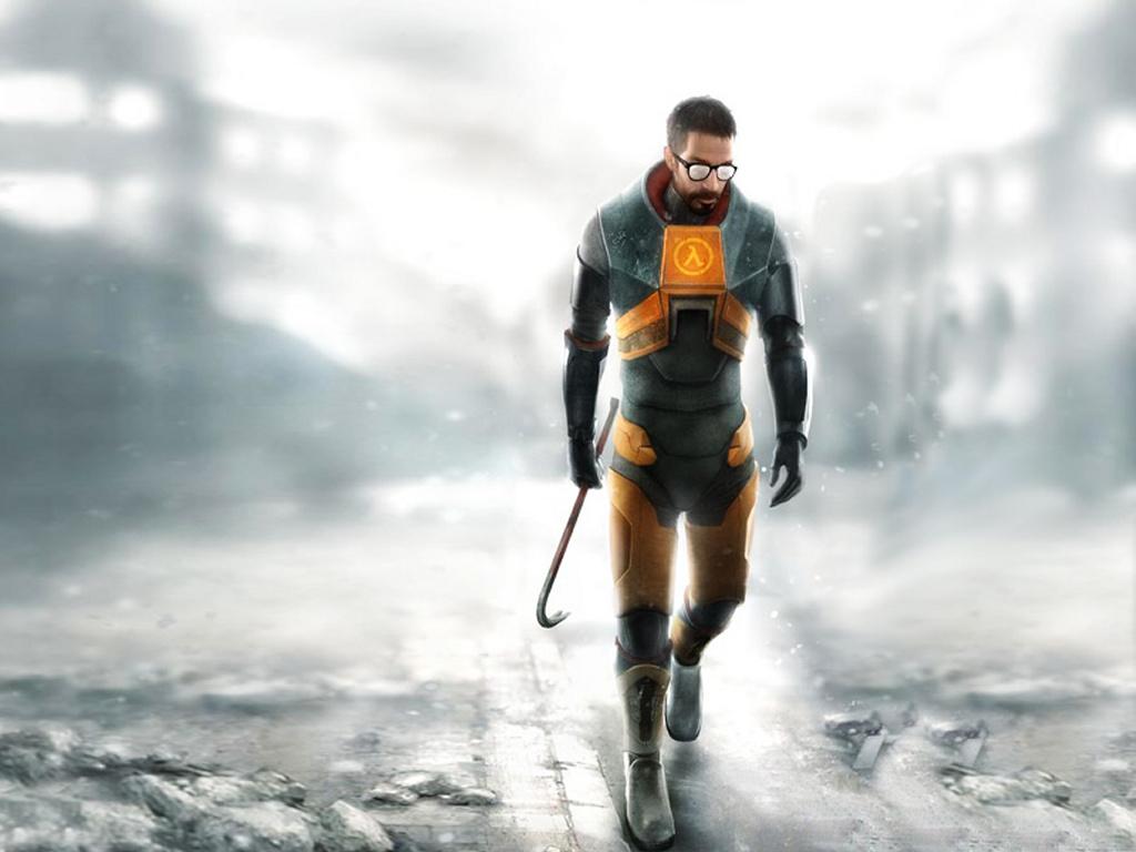 Games Wallpaper: Half-Life 2 - Gordon Freeman