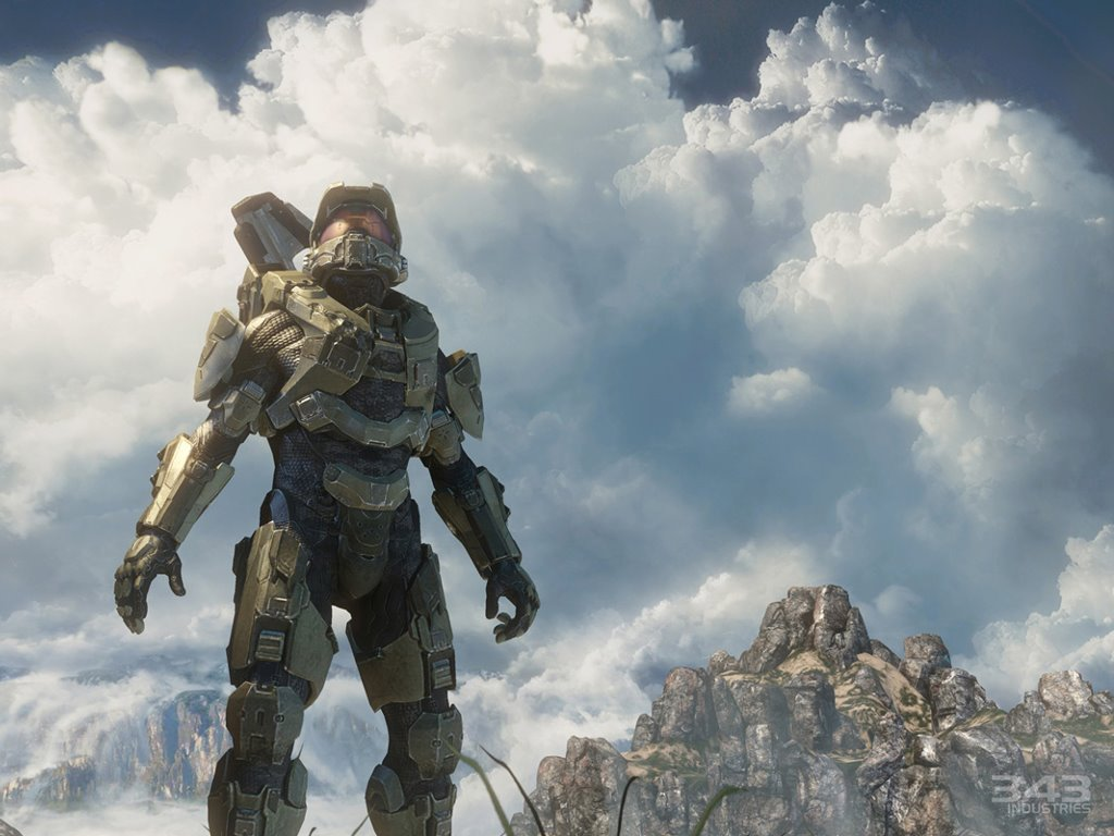 Games Wallpaper: Halo 4 - Master Chief