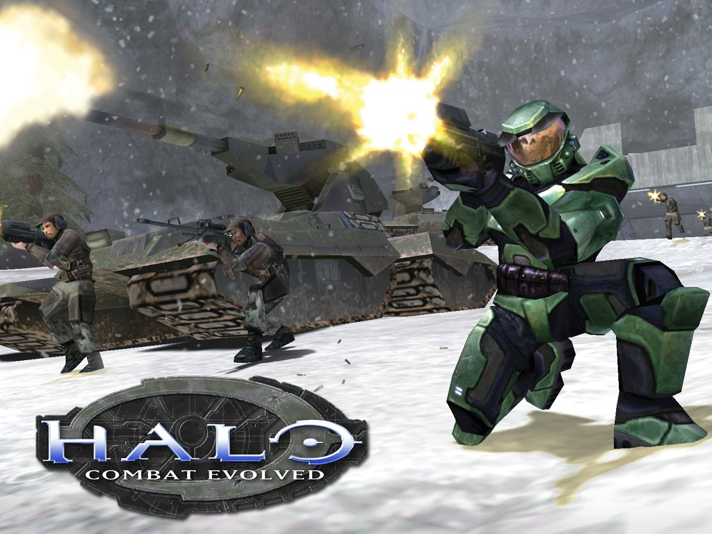 Games Wallpaper: Halo - Combat Evolved