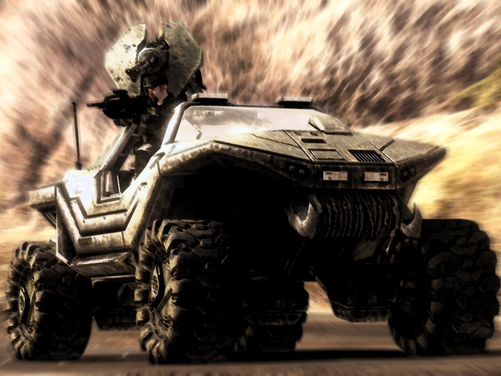 Games Wallpaper: Halo - Warthog