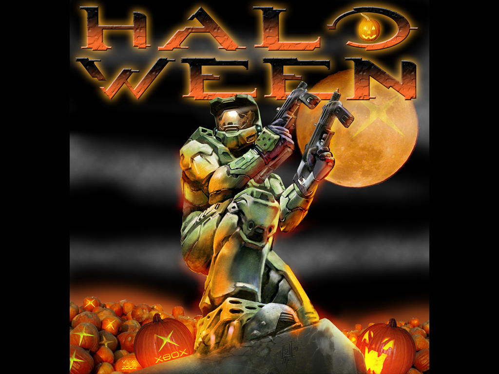 Games Wallpaper: Halo Ween