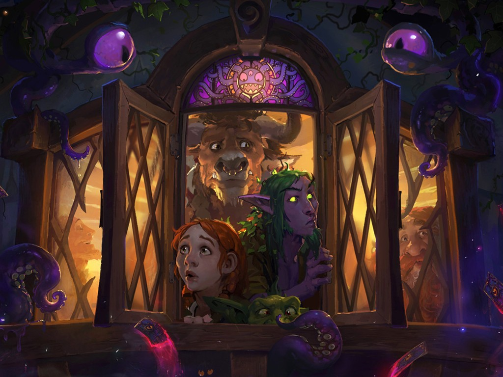 Games Wallpaper: Hearthstone - Whispers of the Old Gods
