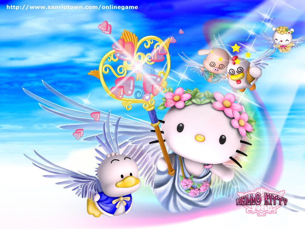 Games Wallpaper: Hello Kitty World