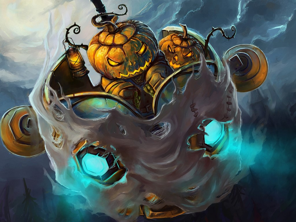 Games Wallpaper: World of Warcraft - Halloween