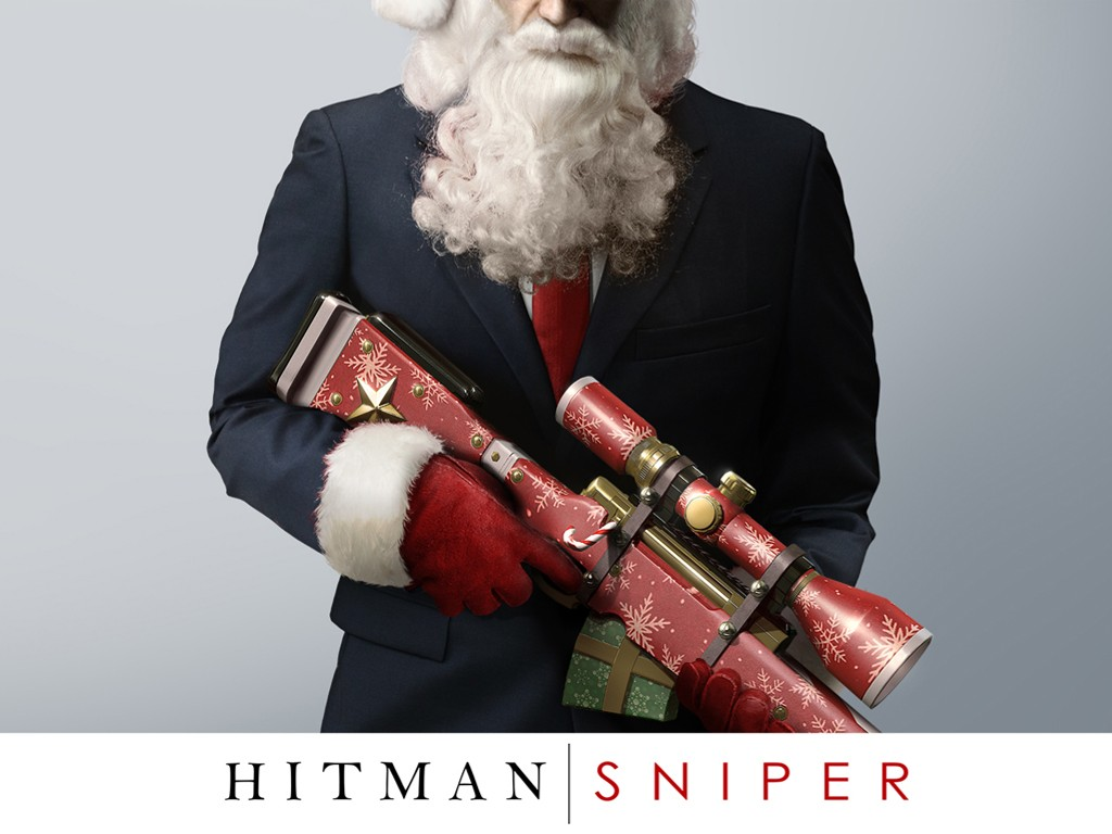 Games Wallpaper: Hitman Sniper - Christmas