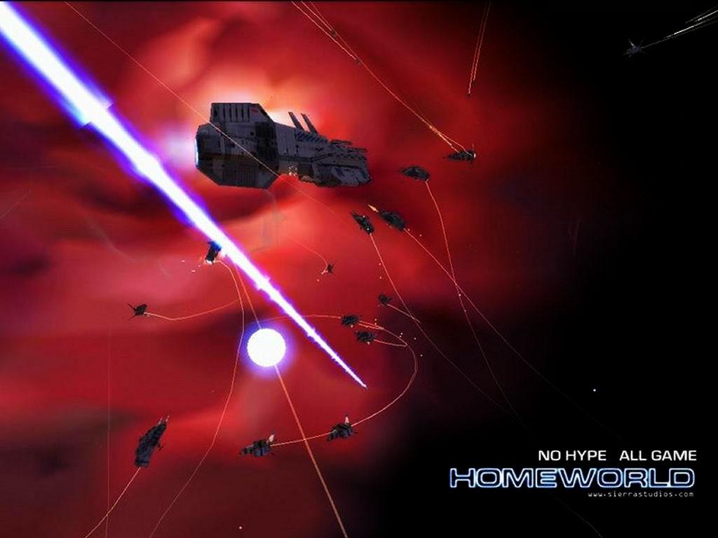 Games Wallpaper: Homeworld - Battlefield