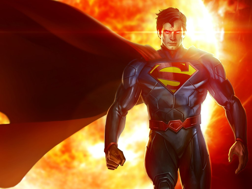 Games Wallpaper: Infinite Crisis - Superman