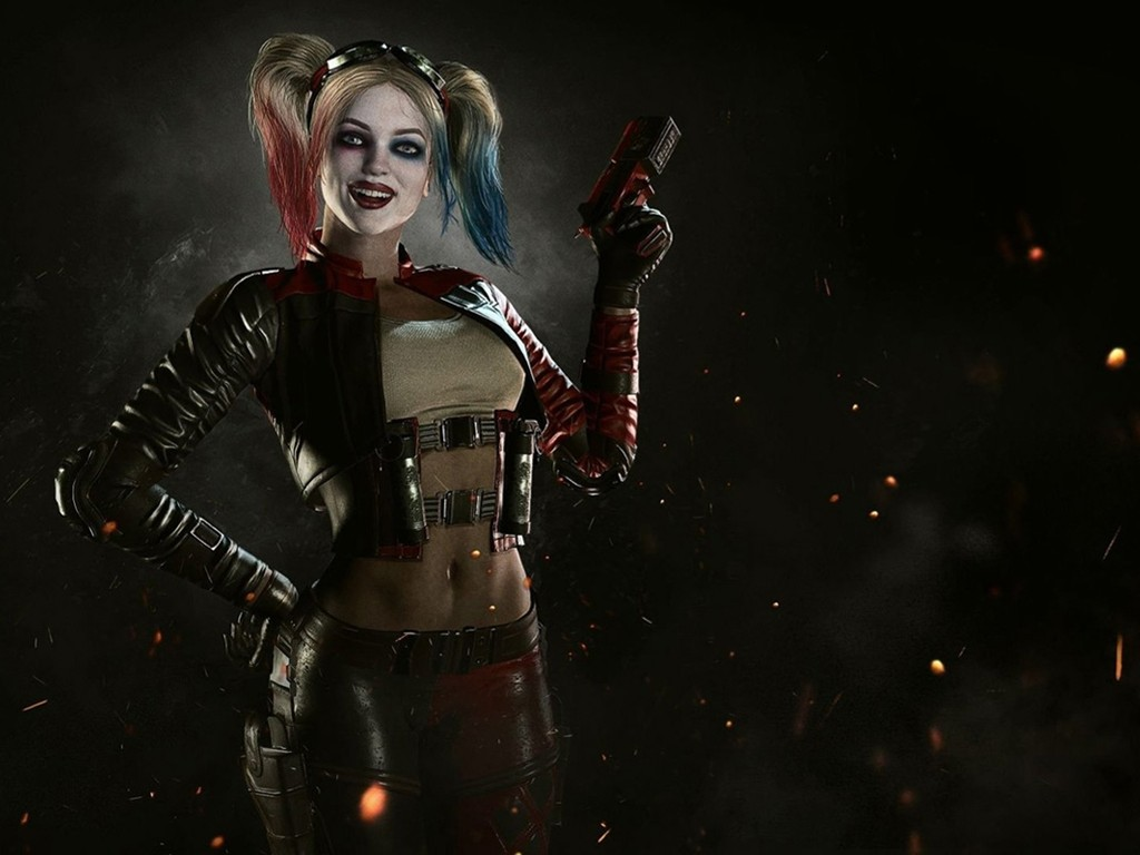 Games Wallpaper: Injustice 2 - Harley