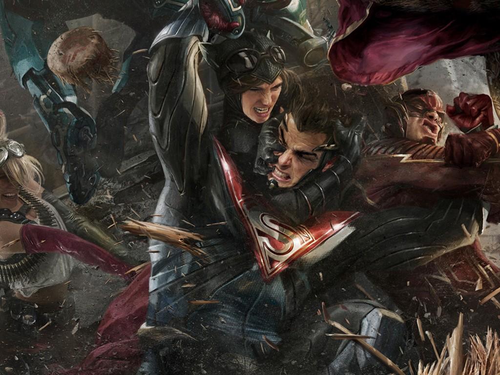 Games Wallpaper: Injustice 2