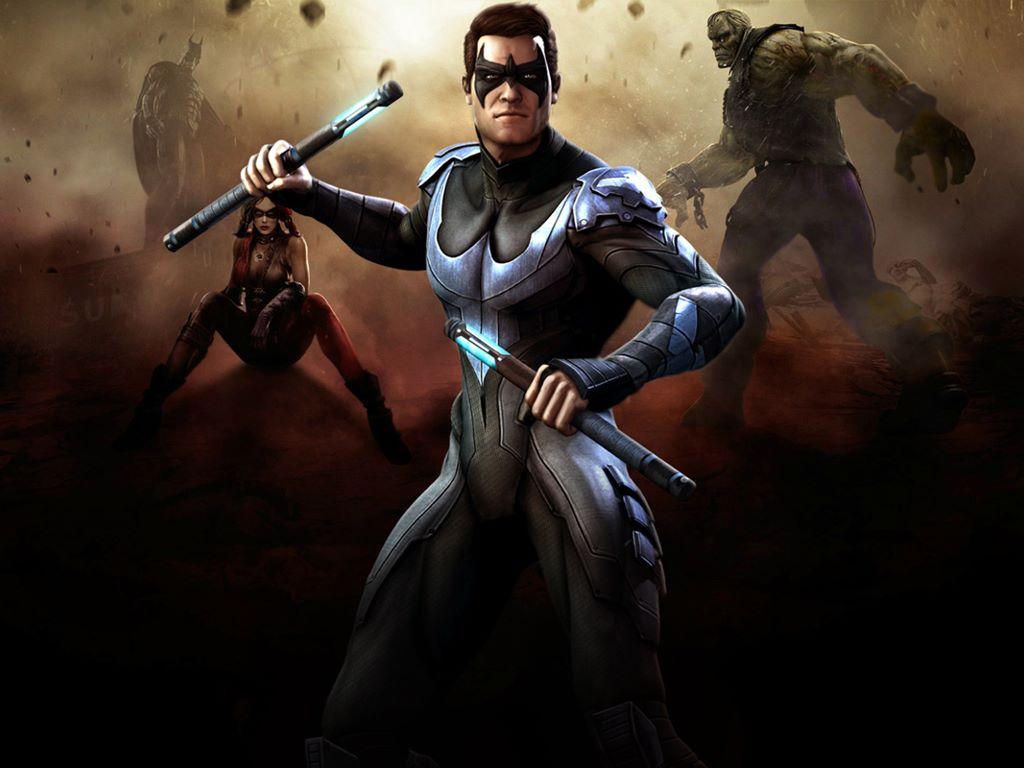 Games Wallpaper: Injustice - Gods Among Us