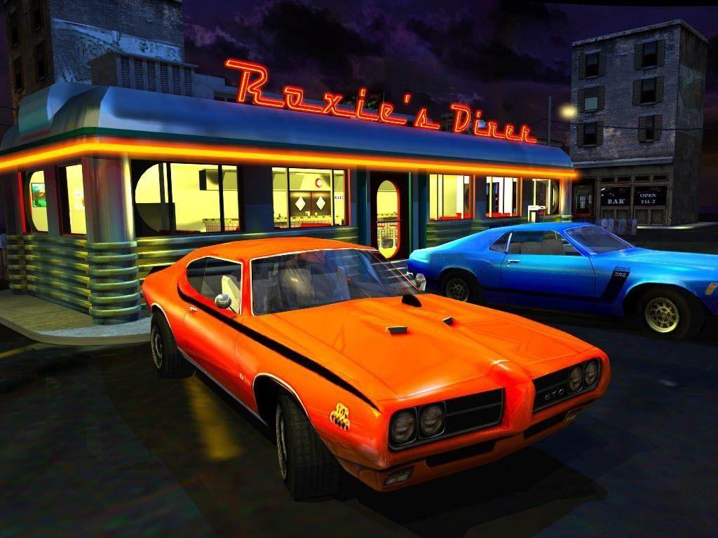 Games Wallpaper: Interstate 76 - Roxie's Dinner
