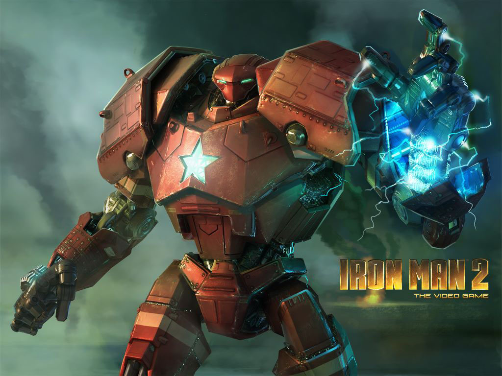 Games Wallpaper: Iron Man 2 - The Videogame
