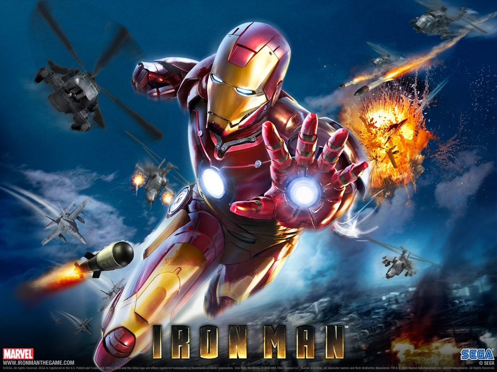 Games Wallpaper: Iron Man - The Game