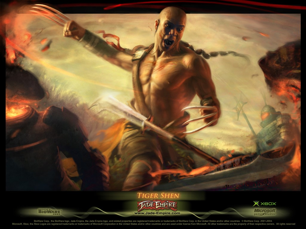 Games Wallpaper: Jade Empire