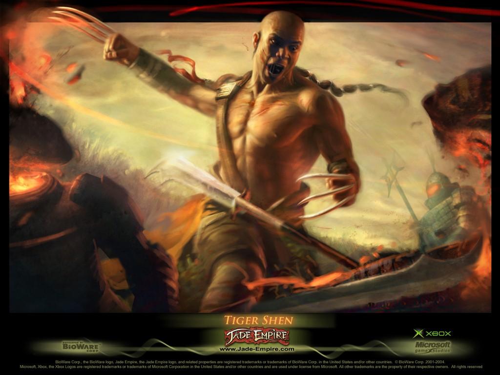 Games Wallpaper: Jade Empire