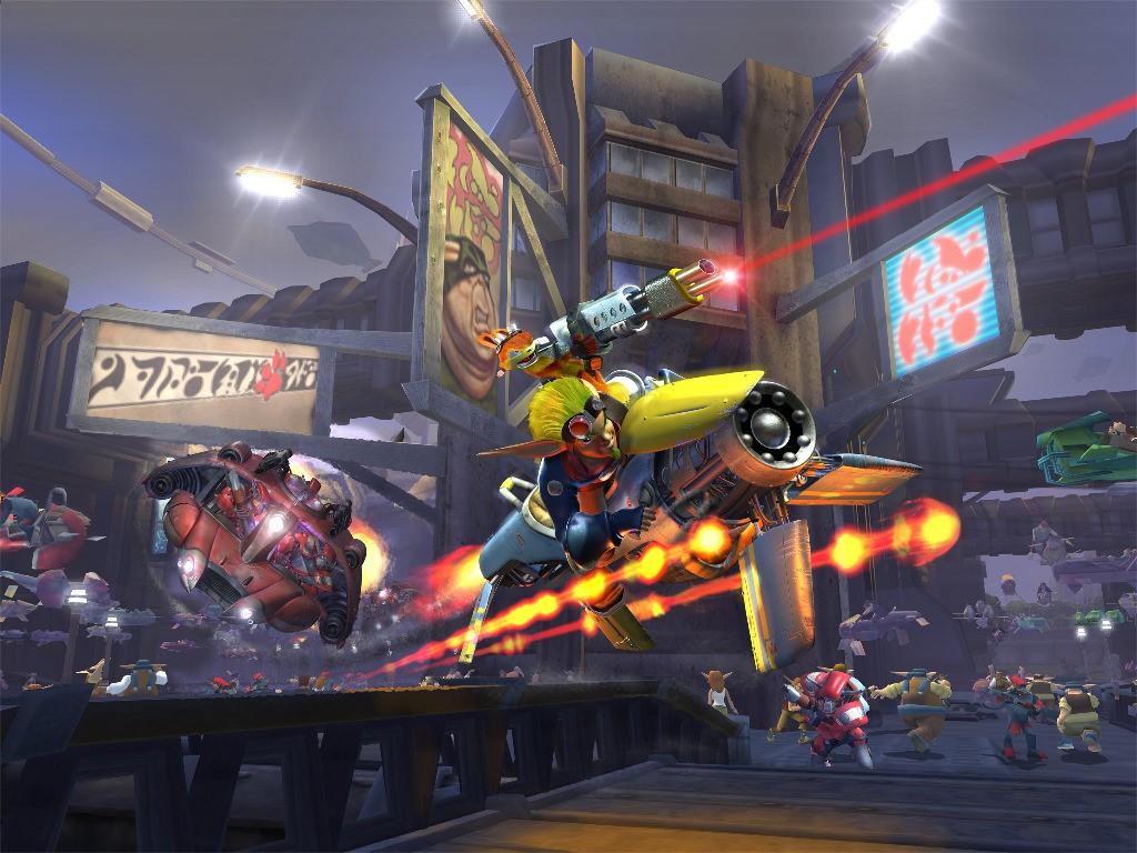 Games Wallpaper: Jak 2