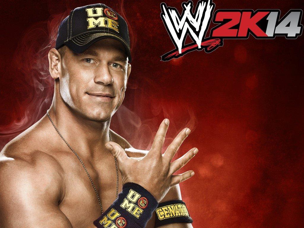 Games Wallpaper: WWE 2K14 - John Cena