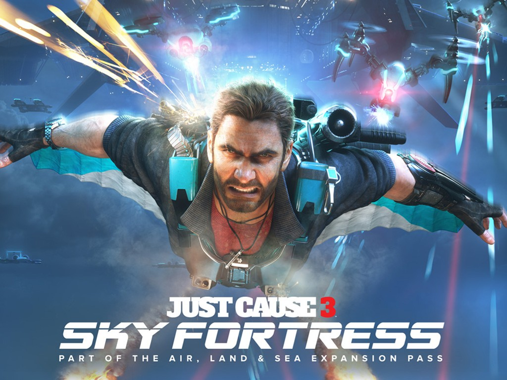 Games Wallpaper: Just Cause 3 - Sky Fortress