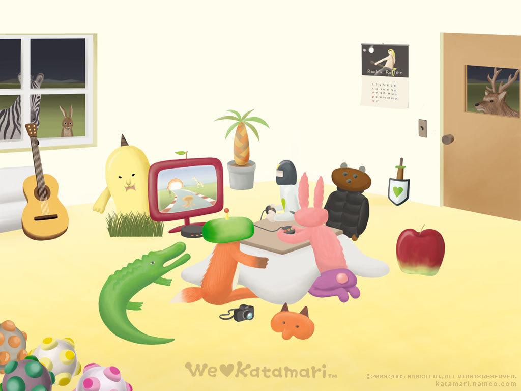Games Wallpaper: Katamari Damacy