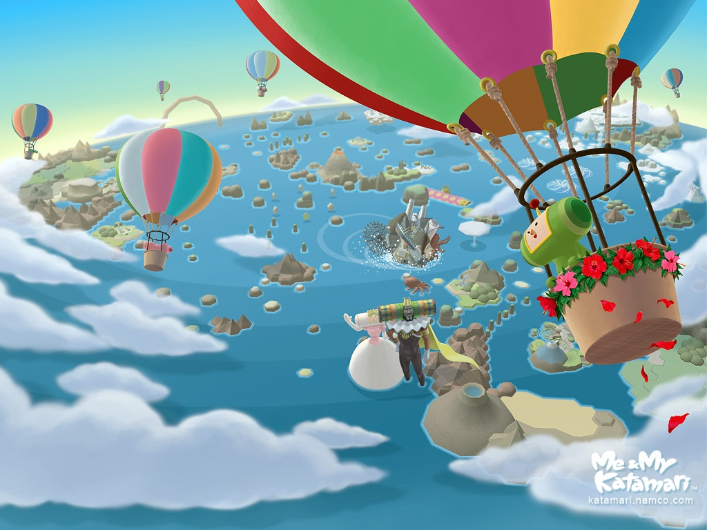 Games Wallpaper: Katamari Damacy
