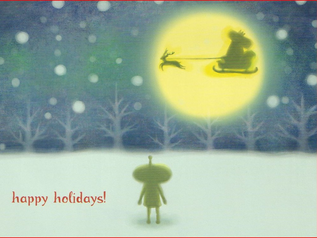 Games Wallpaper: Katamari Damacy - Christmas Postcard