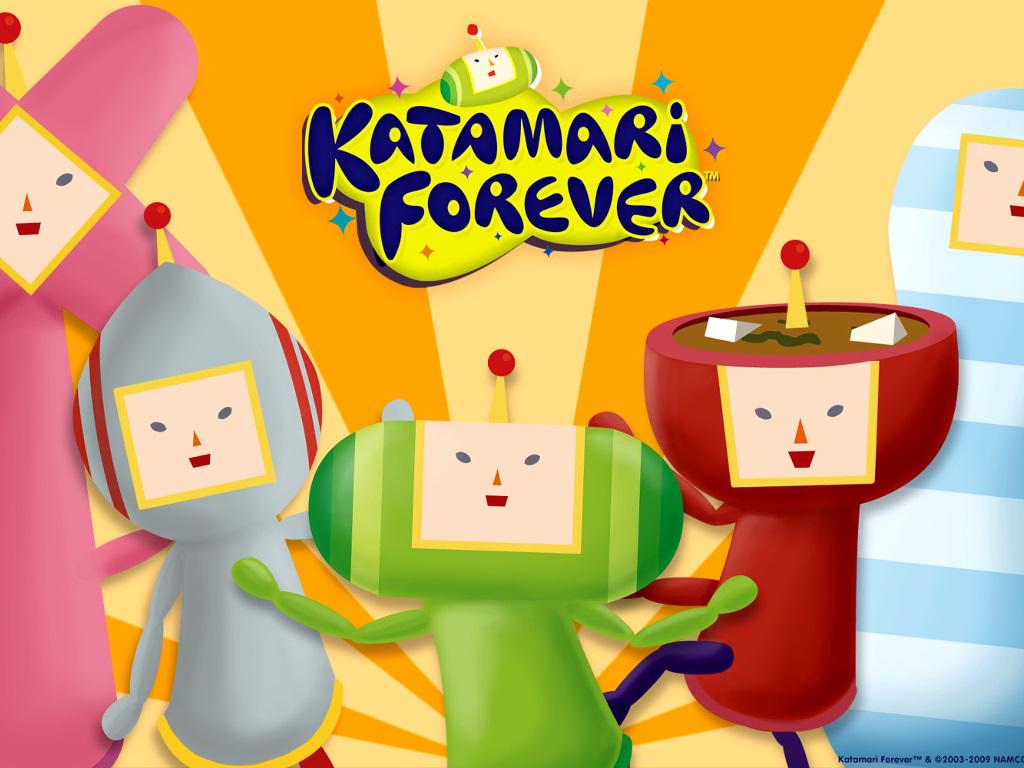 Games Wallpaper: Katamari Forever