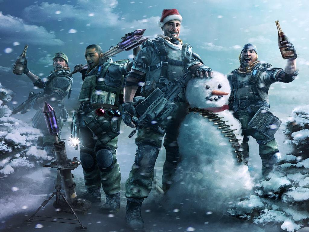 Games Wallpaper: Killzone 2 - Christmas