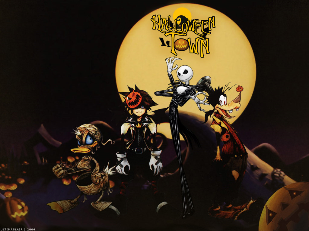 Games Wallpaper: Kingdom Hearts - Halloween