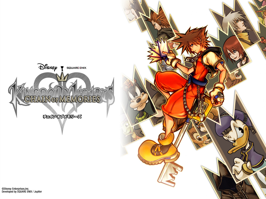 Games Wallpaper: Kingdom Hearts - Chain of Memories