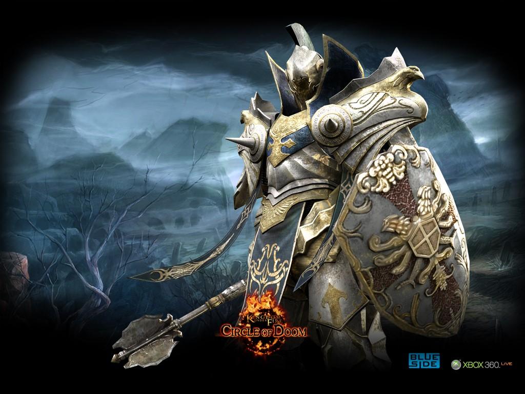 Games Wallpaper: Kingdom of Fire - Circle of Doom