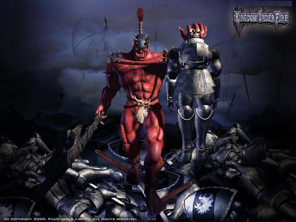 Games Wallpaper: Kingdom Under Fire - Demon
