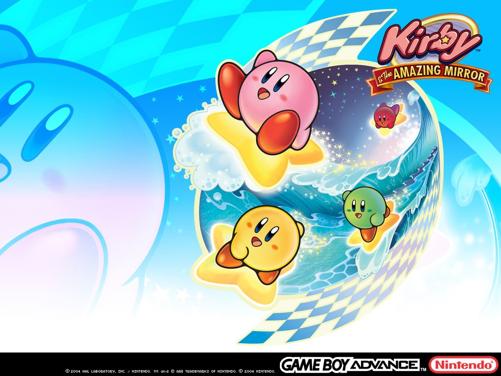 Games Wallpaper: Kirby and the Amazing Mirror