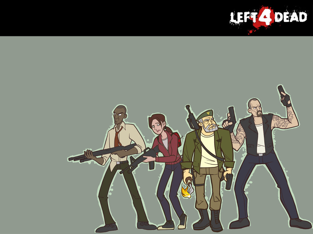 Papel de Parede Gratuito de Jogos : Left 4 Dead
