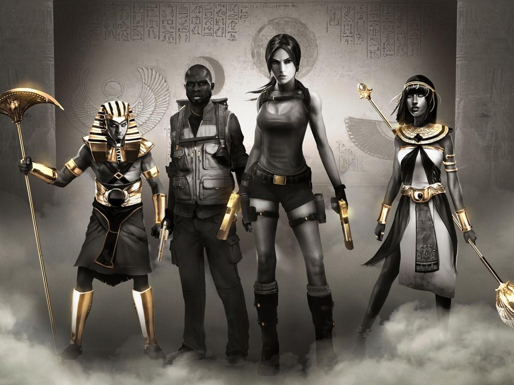 Games Wallpaper: Lara Croft and the Temple of Osiris