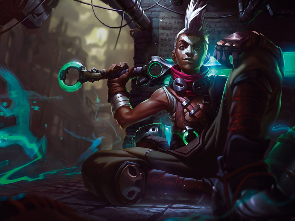 Games Wallpaper: League of Legends - Ekko