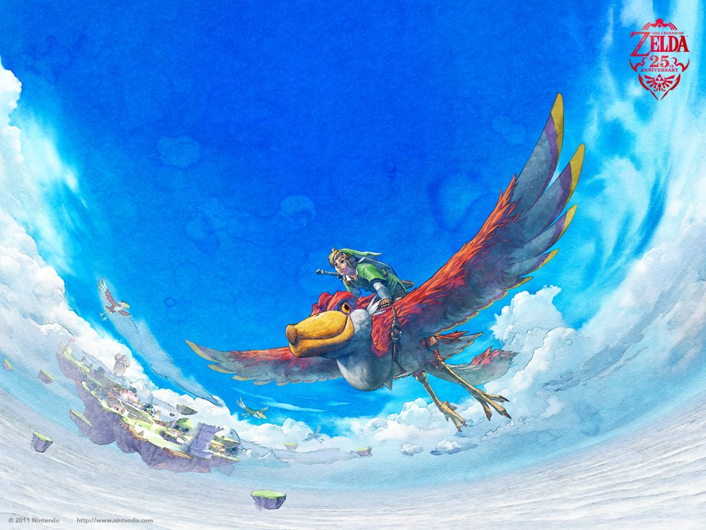 Games Wallpaper: The Legend of Zelda - 25th Anniversary