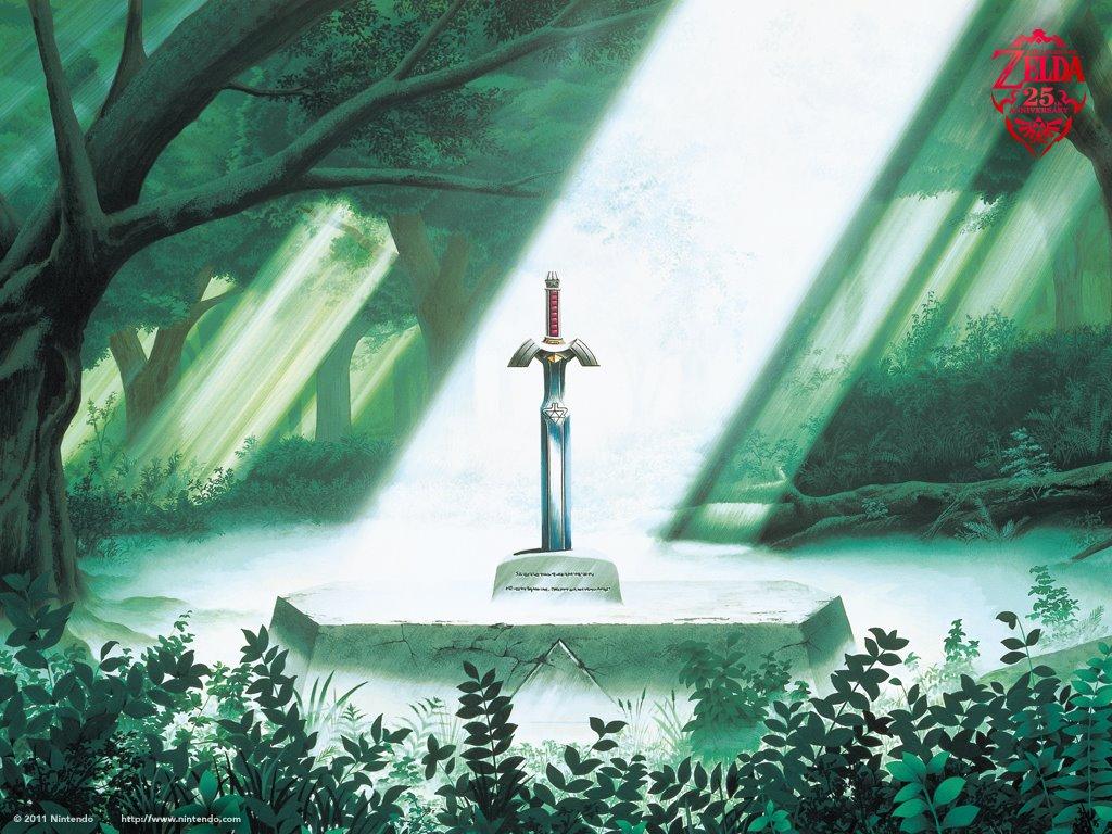Games Wallpaper: Legend of Zelda - 25th Anniversary