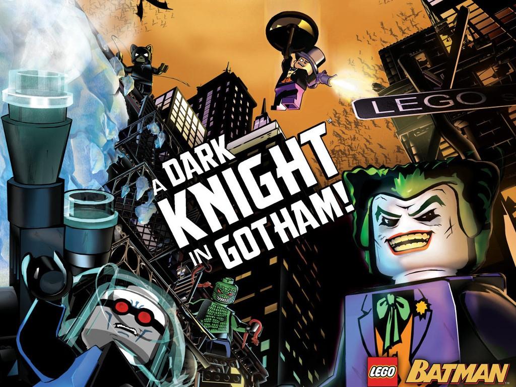Games Wallpaper: Lego - Batman