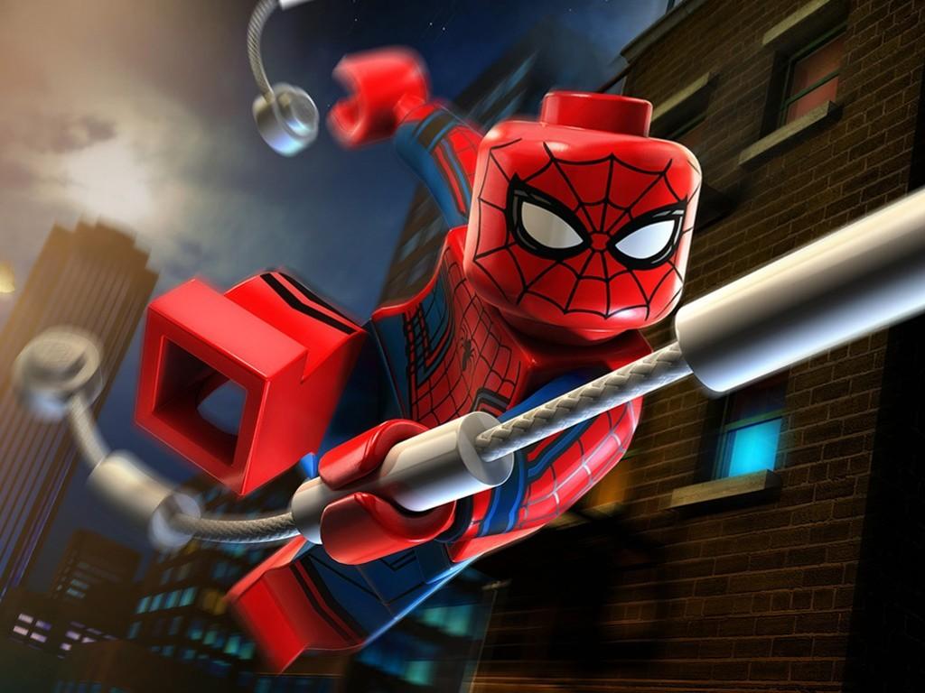 Games Wallpaper: Lego Marvel's Avengers - Spider-Man
