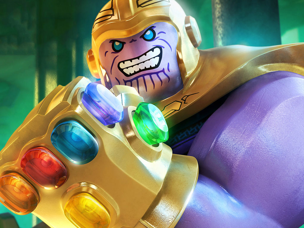 Games Wallpaper: Lego Marvel Super Heroes 2 - Thanos