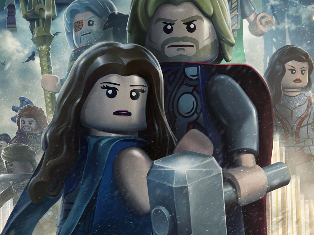 Games Wallpaper: Lego Marvel Super Heroes - Thor