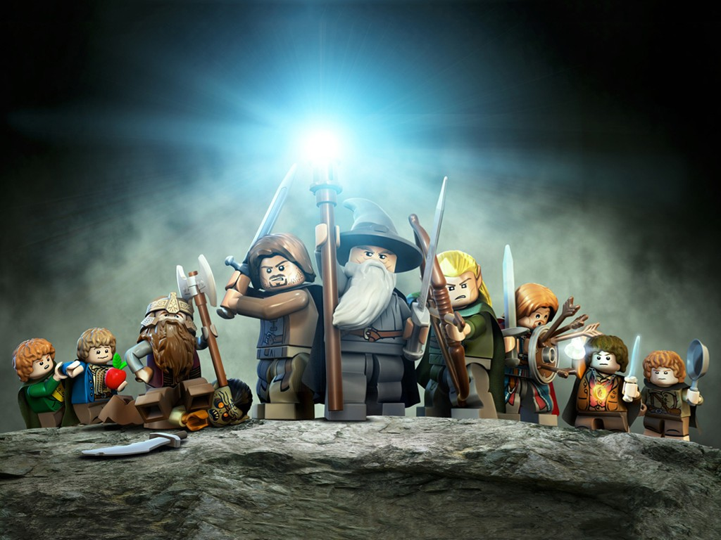 Games Wallpaper: Lego - The Lord of the Rings