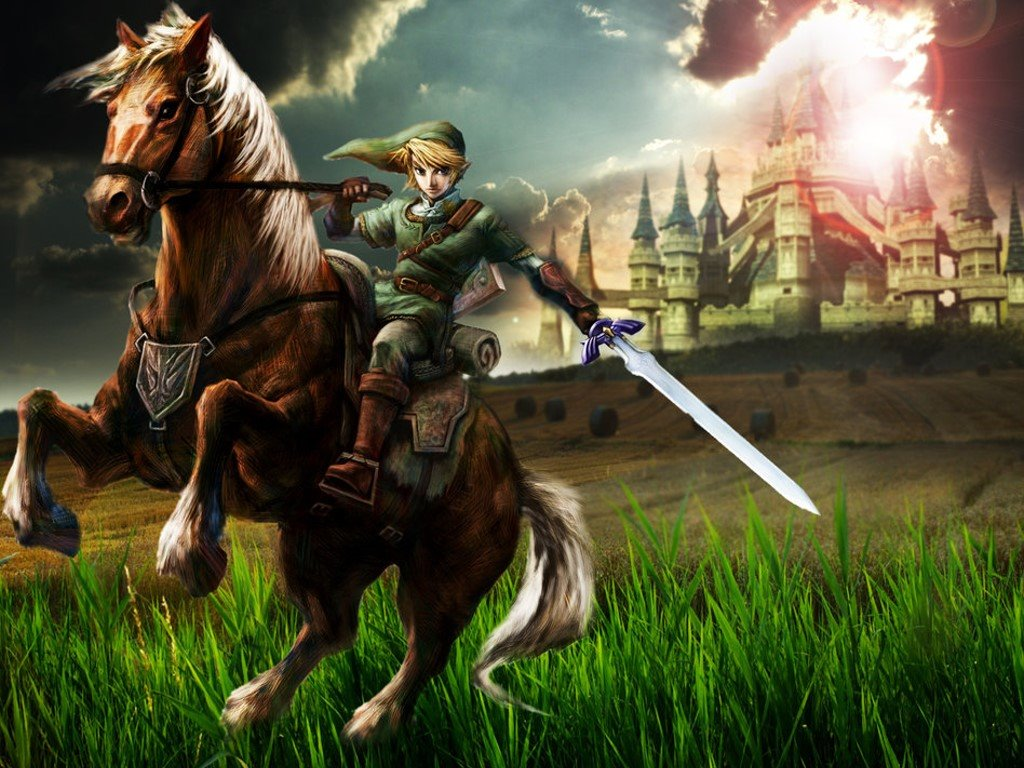 Games Wallpaper: Link and Epona