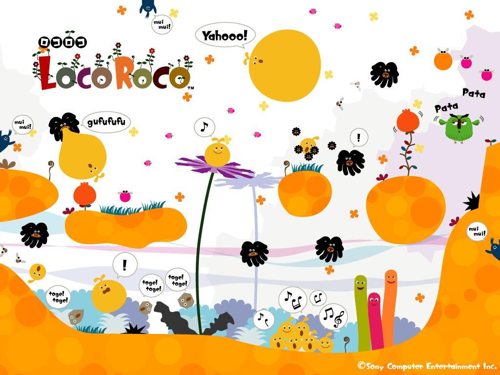 Games Wallpaper: Loco Roco