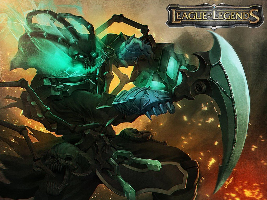 Games Wallpaper: League of Legends - Thresh