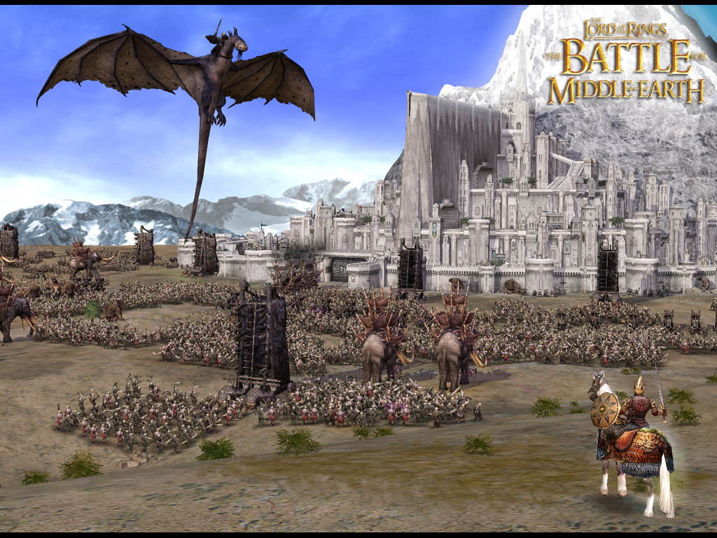 Games Wallpaper: LOTR - the Battle for Middle-Earth