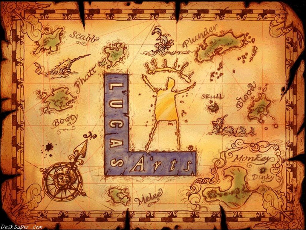 Games Wallpaper: Lucas Arts - Monkey Island